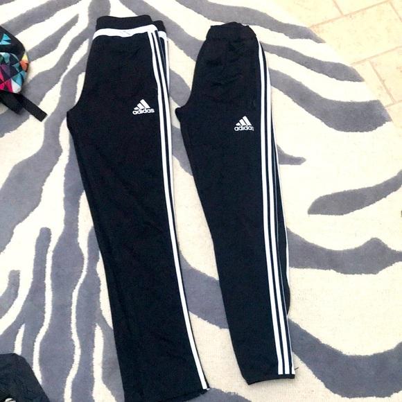 Adidas sports pants 2 pairs